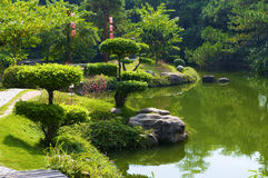 The Japanese garden Royalty Free Stock Image