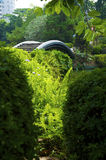 The Japanese garden. In the Chinese park, Shenzhen Royalty Free Stock Image
