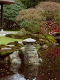 Japanese garden. Spring in park royalty free stock image