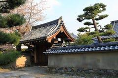 Japanese garden in Arashiyama,Kyoto,Japan. Arashiyama district is one of the most beautiful parts of Kyoto Stock Photos