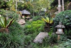 Japanese Garden. Beautiful Of Japanese Garden At Berjaya Hill Royalty Free Stock Photography