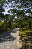Japanese garden. Beautiful Kenrokuen japanese garden  , Japan Stock Image