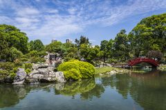 Japanese Garden, Buenos Aires, Argentina royalty free stock photography