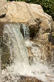 Japanese Garden Cascades closeup 2 Royalty Free Stock Images