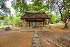 Japanese garden in chiayi, Taiwan Royalty Free Stock Image