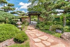 Japanese Garden at Chicago Botanic Garden. Royalty Free Stock Photography