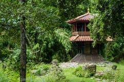 Japanese garden. A japanese garden, at Coex (France Royalty Free Stock Image