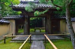 Japanese garden of Daitokuji temple, Kyoto Japan. Royalty Free Stock Photography
