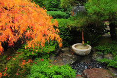 Japanese garden decoration Royalty Free Stock Photos