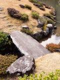 Japanese garden detail Royalty Free Stock Photos