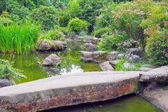 Japanese garden Stock Image
