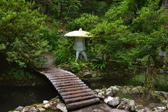 Japanese garden Georgia Batumi royalty free stock photography