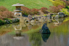 Japanese Garden Grounds Royalty Free Stock Image