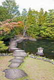 Japanese Garden in Himeji - Japan stock photos
