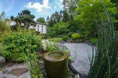 Japanese Garden. A japanese garden in Holzkirchen Stock Image