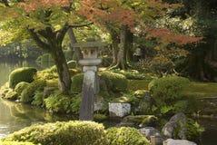 Japanese Garden, Kanazawa, Japan Stock Photos