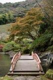 Japanese garden,Keishuen Japanese Garden Saga,Japan.  Royalty Free Stock Photography