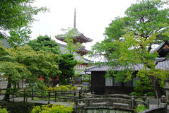 A Japanese Garden Royalty Free Stock Images