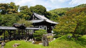 Japanese garden in Kodaiji temple Stock Photos