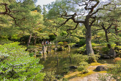 Japanese garden. Royalty Free Stock Photography