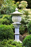 Japanese garden lamp Stock Photography