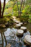 Japanese garden landscape Royalty Free Stock Photo
