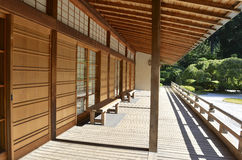 Japanese garden landscape Royalty Free Stock Photography
