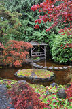 Japanese garden landscaping Royalty Free Stock Photography