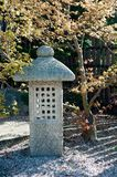 Japanese garden lantern Stock Photography