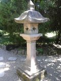 Japanese garden lantern Royalty Free Stock Photo