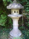 Japanese garden lantern Stock Photography