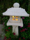Japanese garden lantern Stock Photos