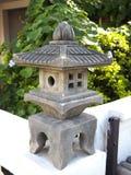 Japanese garden lantern Royalty Free Stock Image