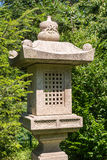 Japanese Garden Lantern Stock Photo