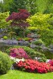 Japanese garden, London Royalty Free Stock Image