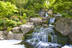 Japanese garden, London Royalty Free Stock Photos