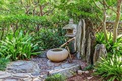 Japanese garden in Monte Carlo, Stock Image