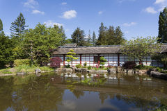 Japanese garden, Nantes Royalty Free Stock Photography