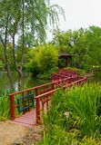 Japanese Garden in Napa Valley Royalty Free Stock Image