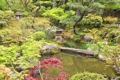 Japanese Garden in Nara Stock Photos