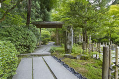 Japanese Garden Path Royalty Free Stock Images