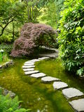 Japanese garden Pathway Stock Photo