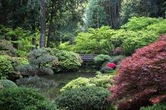 Japanese Garden. In Portland, Oregon Stock Photos