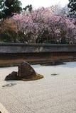 Japanese Garden, Ryoan-ji Temple Royalty Free Stock Photos