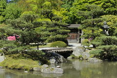 Japanese Garden, Seattle, USA Royalty Free Stock Image