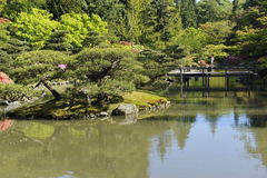 Japanese Garden, Seattle, USA Royalty Free Stock Photos
