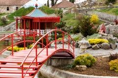 Japanese Garden. Sector, from Vasile Fati Botanical Garden, Jibou, Salaj county, Romania Royalty Free Stock Image