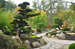 Japanese garden Stock Photos