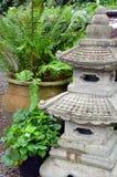 Japanese garden shrine Royalty Free Stock Images