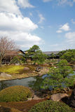 Japanese garden in spring time Royalty Free Stock Photos